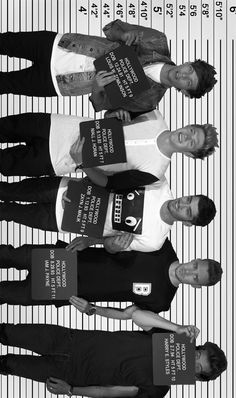 Ummm, I'm sorry, but I like 5sos mug shot pictures better. Although I still like this picture