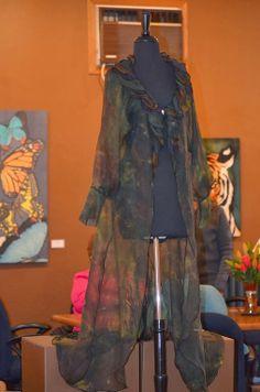 Wearable art by Ann Taecker. Photo by Tabatha Nentl