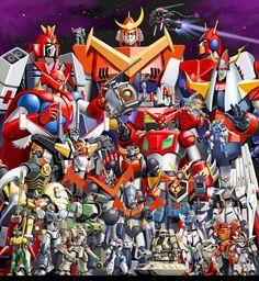 Classic Super Robots