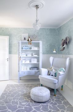 Lovely nursery from @houseofphilia and Estelle 170 Mint
