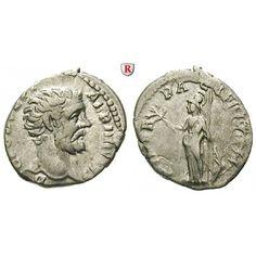 Römische Kaiserzeit, Clodius Albinus, Caesar, Denar 194, ss: Clodius Albinus, Caesar 193-195. Denar 18 mm 194 Rom. Kopf r. D CLOD… #coins