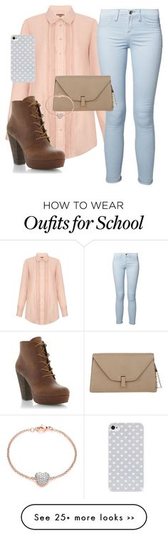 """School Girl"" by hollybeanrocks on Polyvore"