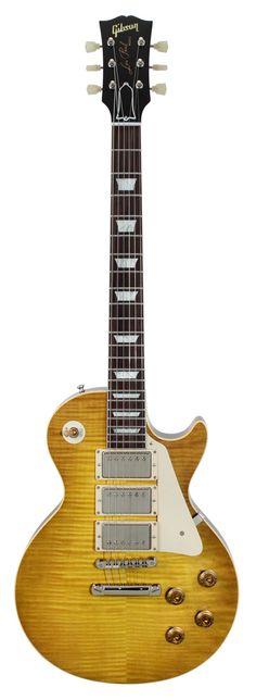 Gibson Custom Shop Limited Run 3-Pickup 1959 Les Paul Gloss Lemon Burst