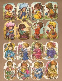 Kruger 171/275-276 Schattige Kindjes poezieplaatjes