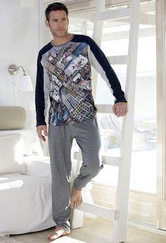 dab9811183 Pijamas Hombre - Compra Pijamas Caballero Online en Varela Íntimo