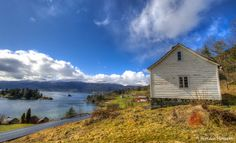 A sunny day by the Hardangerfjord, Norway. By Halfdan Hallseth, via 500px