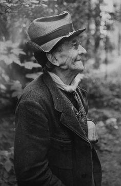 Paul Léautaud par Henri Cartier-Bresson