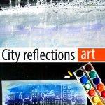 City+reflections+art