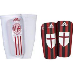 Adidas Men Youth Shinguards Milan Shin Pads Pro Lite Victory S90396  Red Black 8e55c79262a16