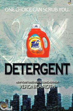 "Sadly, there are no ""Detergent"" jokes in Allegiant ."