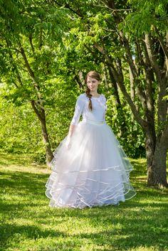 Princess Bride - tulle skirt / bridal skirt / tulle circle skirt / blush wedding skirt / blush bridal / tulle bridal skirt / bridal tutu by WardrobeByDulcinea on Etsy