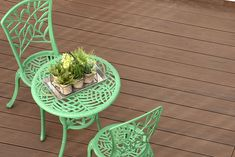 EasyClean Tropical Walnut composite decking is capped with a protective polymer sleeve. Perfect for any outdoor space. Porches, Single Tree, Tropical, Composite Decking, Recycled Wood, Bright Green, Composition, Hardwood, Planter Pots