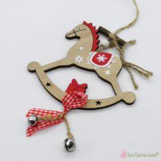Ξύλινα διακοσμητικά αλογάκια - XeiroTexnima Lucas Wooden Products, Christmas Ornaments, Decoration, Holiday Decor, Home Decor, Decor, Decoration Home, Room Decor, Christmas Jewelry