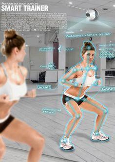 Smart Trainer – Personal Training Camera with Feedback by Yootaek Jung » Yanko Design