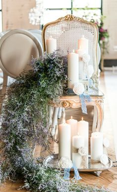 Pearls and Lace Themed Wedding Style