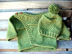 Ravelry: Happy Green Sprout Hat pattern by Julia Trice