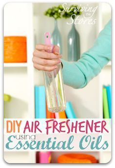 Tired of toxic chemicals in your air fresheners? Check out how to make your air fresheners actually beneficial for you at a fraction of the cost!