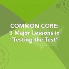 Lessons for educators to know from testing PARCC