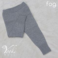 LEGGINGS MEDIUM, FOG - YOOKIWOOL - 3