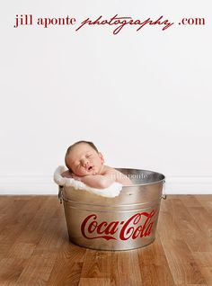 Any one who knows me is aware of my obsession with coke.. so this will be my child in there