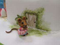 Beatrix potter Cake -characters Beatrix Potter Cake, Disney Characters, Fictional Characters, Teddy Bear, Cakes, Dogs, Animals, Art, Art Background