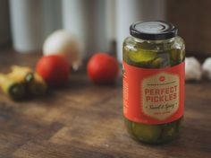 Perfect Pickles! Do you know how long I've had that as an email username? I like the design by the way :)