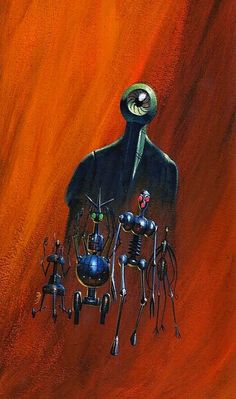 The Robots are Here by Terry Carr // Jack Gaughan
