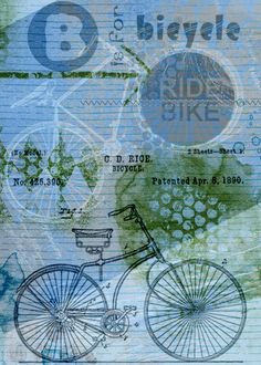 B is for Bicycle by moog. Kit: Bike Travels Transfers by Mamrotka Designs http://scrapbird.com/designers-c-73/k-m-c-73_516/mamrotka-designs-c-73_516_85/bike-travels-art-transfers-p-15967.html One Fine Day kit by Mamrotka Designs http://scrapbird.com/designers-c-73/k-m-c-73_516/mamrotka-designs-c-73_516_85/one-fine-day-1-p-17495.html