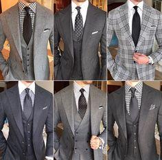 50 Shades of Grey #menssuitsgrey