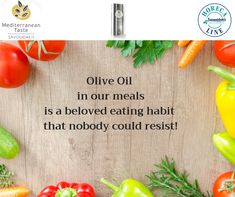 *Olive Oil in our meals is a beloved eating habit that nobody could resist! Crete, Eating Habits, Olive Oil, Plastic Cutting Board, Lovers, Meals, Food, Products, Meal