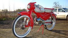Rex Riva Sport Type 29 - 1960 Zeer zeldzame bromfiets - Compleet gerestaureerd