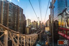 View of Manhattan from the Roosevelt Island Tramway,  New York City