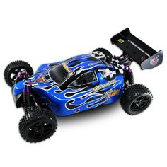 SHOCKWAVE ~ 1/10 SCALE ~ RC NITRO BUGGY ~ By REDCAT RACING ~ BLUE for $142.80