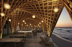 Gallery of Vo Trong Nghia Architects Designs Bamboo Beachfront Resort in Vietnamese Cove - 1