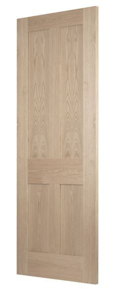 Shaker 4-Panel Oak Door | Buy Online, via Phone or In-store at our Dorset, Northolt and St Albans stores from the UK's Largest Supplier of Timber Doors | Todd Doors