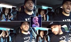 "OK, we all know how I feel about kids. But sometimes the Disney in me over-rules. Thanks, mom, for this adorable dad and daughter doing ""Frozen"" karaoke. Three-year-old girl and stepfather perform duet to Disney's Frozen"