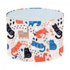Lampenkap Kattenpatroon   Bestel lampenkappen voorzien van digitale print op hoogwaardige kunststof vandaag nog bij YouPri. Verkrijgbaar in verschillende maten en geschikt voor diverse ruimtes. Te bestellen met een eigen afbeelding of een print uit onze collectie.    #lampenkap #lampenkappen #lamp #interieur #interieurdesign #woonruimte #slaapkamer #maken #pimpen #diy #modern #bekleden #design #foto #kat #katten #poes #poezen #dier #huisdier #kattenvrouwtje
