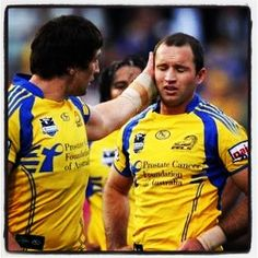 parramatta eels duo Nathan Hindmarsh and Luke Burt will retire after Sunday's game against St George Illawarra Dragons. Rugby League, My Boys, Dragons, Game, My Favorite Things, Sports, Hs Sports, My Children, Train Your Dragon