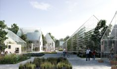 ReGen Villages, partnered with Danish architecture firm, Effekt, has designed a small village or city area that is able to meet sustainable. Green Architecture, Sustainable Architecture, Sustainable Design, Sustainable Living, Landscape Architecture, Architecture Design, Sustainable Energy, Amsterdam, Self Sustaining