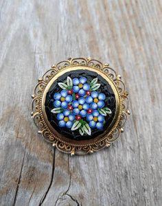 dc9e8df69 11 Best Micro-Mosaic Jewelry - Italian Too images | Mosaics, Mosaic ...