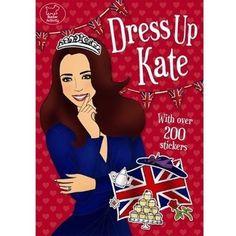 Dress Up Kate Sticker Book