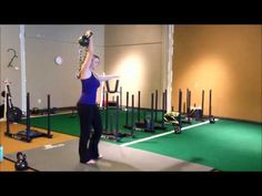 Molly Galbraith MollyGalbraith.com and GirlsGoneStrong.com Turkish Get Up Carries - YouTube