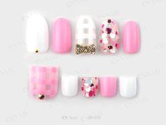 Manicure Y Pedicure, Mani Pedi, Es Nails, Japanese Nail Art, Pretty Toes, Nail Inspo, Nail Arts, Eyeliner, Nail Designs