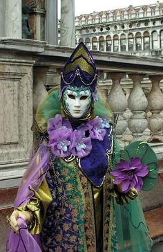 Carnivale, Venice, 2008 ~ photo by Umberto Sartory
