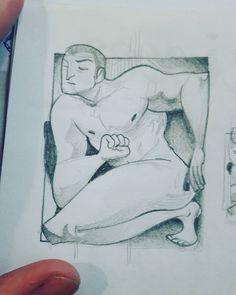 Dia 2 -(Poc) Espai  M'ha pillat al curro 💁👌 #artnestoltes #art #artwork #illustration #traditionalart #drawing #doodle