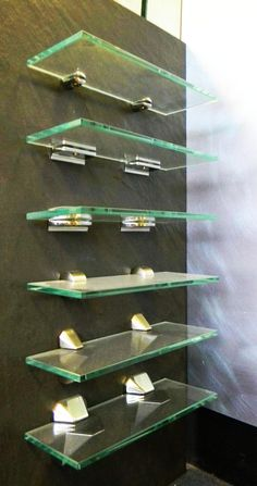 7 best glass shelving and furnature images glass furniture rh pinterest com