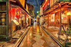 Kyoto alley, Japan