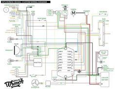 Elektrisch schema is af😀 bmw r100 en motogadget munit