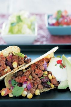 Tacos with ostrich mince con carne are bursting with flavour and stuffed with a favourite South African meat. Crunchy, delicious and satisfying.