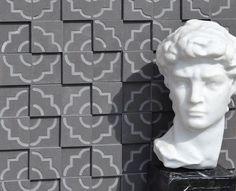 Brogliato Revestimentos - Coleção Print - Tile Gray - 30x30cm